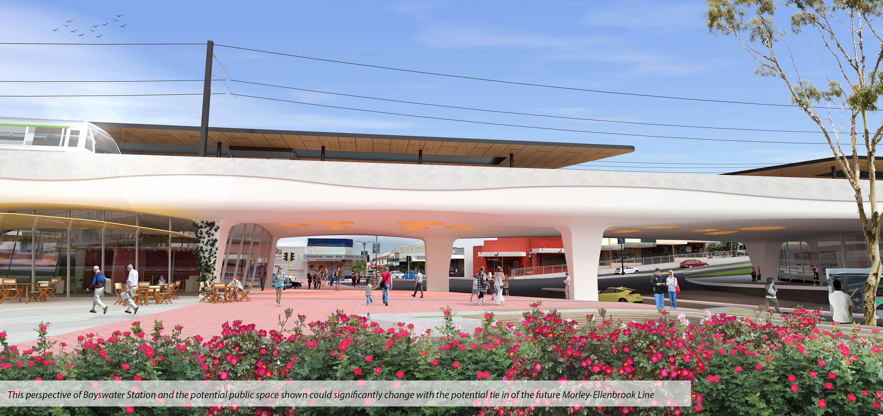 Metronet Bayswater Station Mel